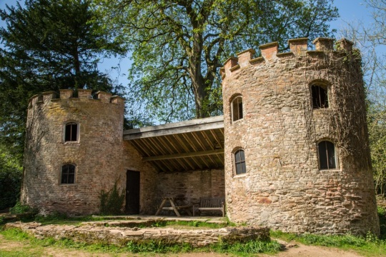 Discover the Folly at Fyne Court, picture taken by Jim Elliot of the National Trust