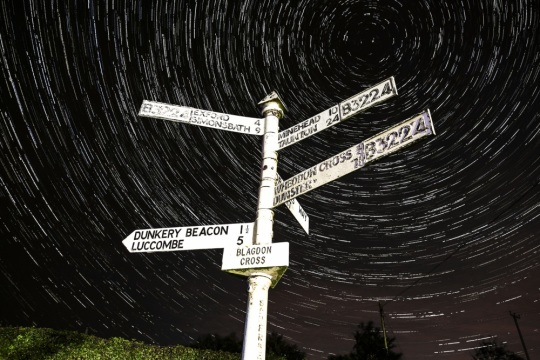 Exmoor's Dark skies by Adrian Cubitt taken for Exmoor National Park Authority