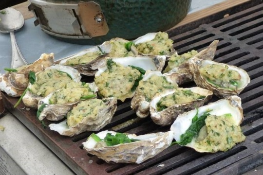 Porlock Bay Oysters, image by Corinne Matthews for Visit Exmoor