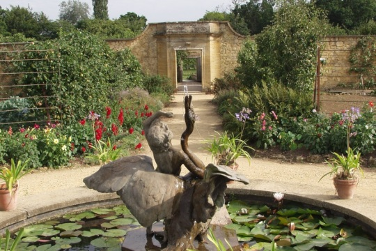 Gardens at Barrington Court. image supplied by Discover South Somerset
