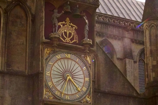 Second oldest clock mechanism, image supplied by South West Heritage Trust