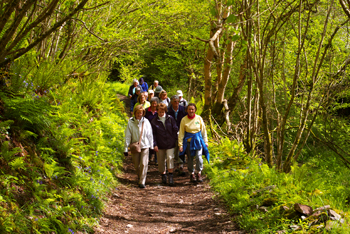 walking in exmoor