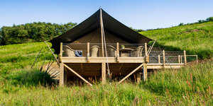 GLAMPING: GIVE IT A GO!