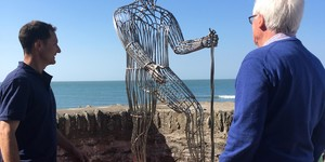 New Statue Unveiled on Exmoor