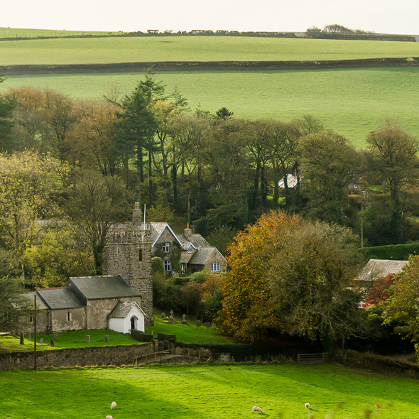 Oare Church and the Doone Valley