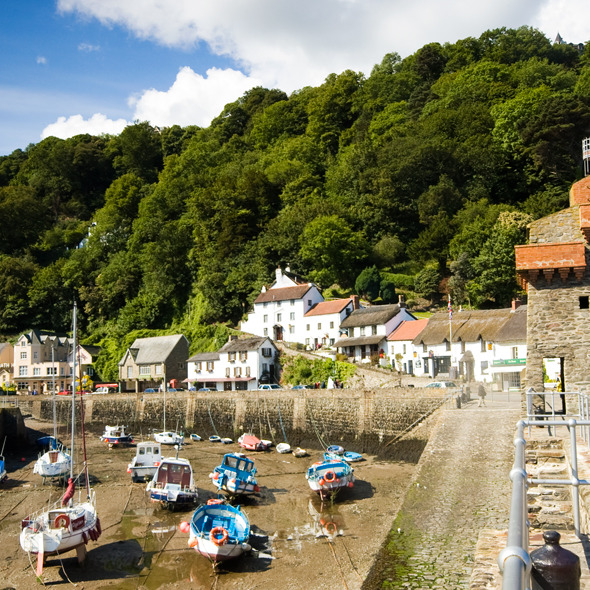 Rhenish Tower and Lynmouth Pavilion