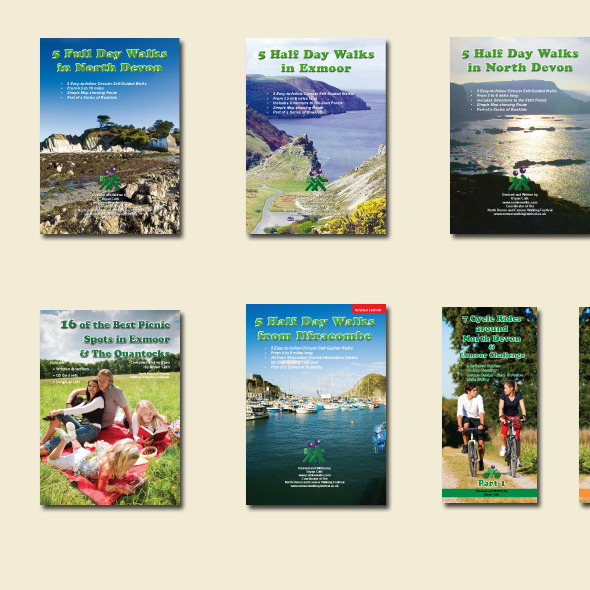 Combe Walks - walks & cycle booklets