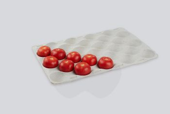 Pulp Round Fruit Liners, 580x380mm