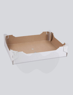Produce Tray With Clips