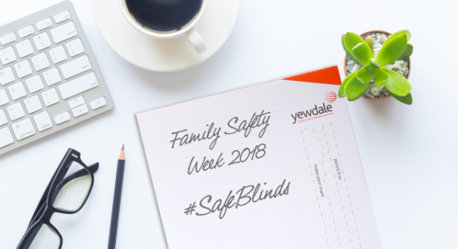 Family safety week desk pad