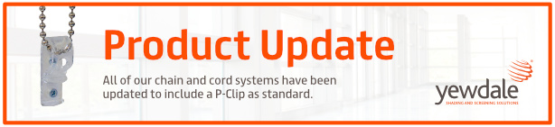 Product Update: P-Clips Supplied as Standard