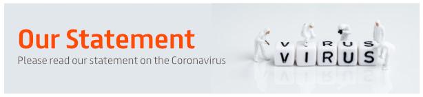 Statement on Coronavirus (COVID-19)
