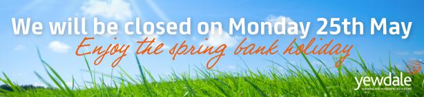 Spring Bank Holiday 2020