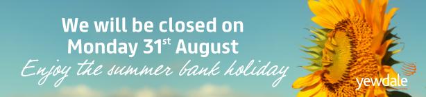 Summer Bank Holiday 2020