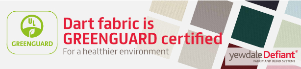 Dart Fabric is GREENGUARD certified