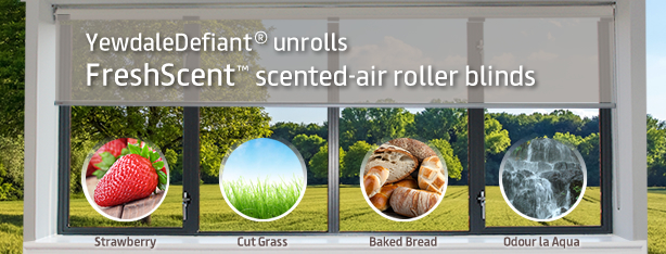 FreshScent scented-air roller blinds