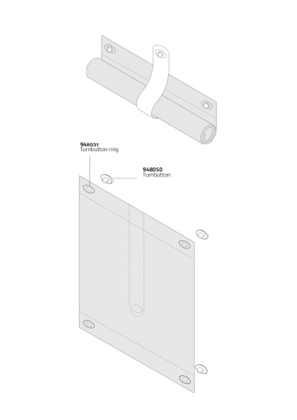 VPF Vision Panel Flap components