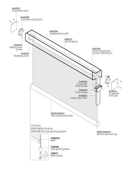 C20 Sidewinder components
