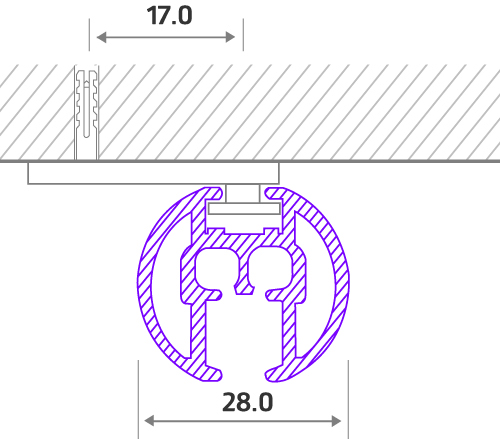 7600W Cord Drawn components