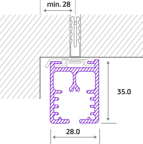 7700W Cord Drawn components
