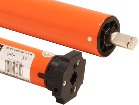 24v DC Tubular motor with radio receiver & transformer