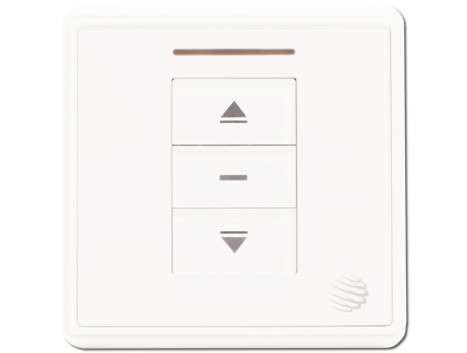 Wall mounted remote control switch - single channel