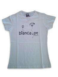 Bianca T-Shirt Ladies - White