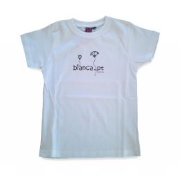 Bianca T-Shirt Kids - White