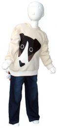 Fluffy Fleece hooded Sweater Yellow